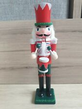 Wooden Christmas Soldier With Drum Nutcracker
