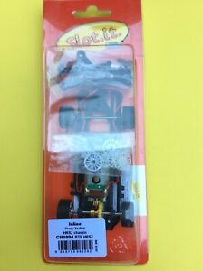 """Slot It Inline HRS2 Ready To Run 1/32 Scale Chassis """"CH109d"""" New"""