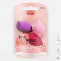 Genuine REAL TECHNIQUES 4 Miracle Mini Complexion Sponges Brand New