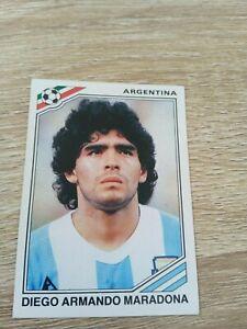 Album Figurine W C Panini Mexico 86 1986 Maradona N 84 Rarissima New Back Velina