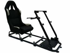 FK FKRSE14127 Sedile Simulazione di Corsa 120 x 50cm - Nero