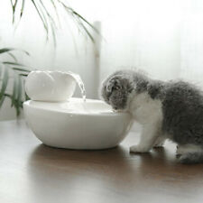 Cat Ceramic Water Fountain Automatic drinking fountain electric water dispenser