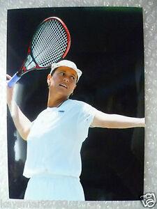 Tennis Press Photo- JO DRURIE - United Kingdom Player (apx. 21.5x15 cm)