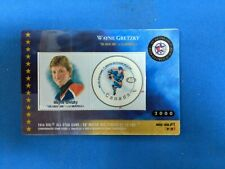 NHL CANADA POST 2000 ALL-STAR GAME OFFICIAL NHL STAMP CARDS WAYNE GRETZKY
