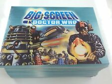 2003 Doctor Who Big Screen Definitive Trading Cards Base Set (100)-Strictly Ink