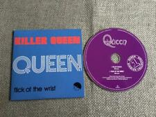 Queen Freddie Mercury CD Single Killer Queen / Flick of The Wrist  Card Sleeve