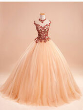 New Appliques Quinceanera Dresses For 15 Years Prom Party Dress Custom all size