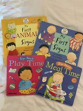 Baby First Sign Language Books Bundle, British Sign Language