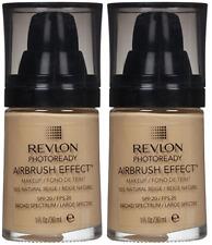 Revlon PhotoReady Airbrush Effect Makeup, Natural Beige (2 Pack)