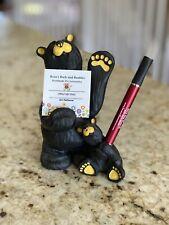 "Big Sky Carvers Bearfoots ""Bic & Cubbie"" Black Bear Collection Jeff Fleming"