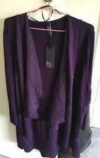 TS- Taking Shape, Womens, Deep Purple, Lightweight, Jacket, Size M