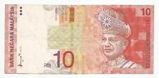 "MALAYSIA  RM10 AHMAD DON  First Prefix AA_8675716  ""VF"""