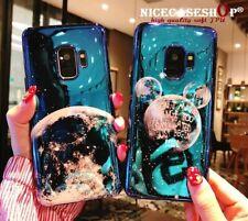 Funda de teléfono para Samsung Galaxy S10 S9 S8 Nota Lindo Mickey Planet Moon Star heаrt