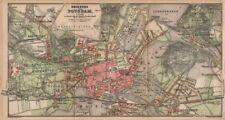 POTSDAM town city stadtplan & environs/umgebung. Nowawes. Brandenburg 1904 map
