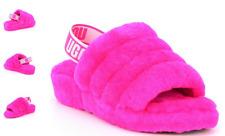 UGG Fluff Yeah Slide Rock Rose Slipper Sandal Women's US sizes 5-11/NEW!!!