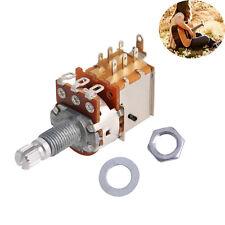2pcs A500K Metal Push Pull Control Pot Electric Guitar Tone Potentiometer