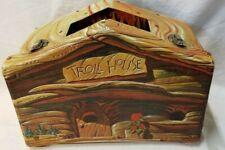 Vintage 1960's TROLL HOUSE Vinyl Carry Case