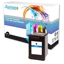 Cartouche type Jumao compatible pour HP PhotoSmart 2700 2710 2710xi, Noir 15 ML