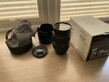 Canon EF 24-70mm F/2.8 USM Lente con HOYA 77mm L FILTRO UV
