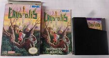 Crystalis NES CIB With Manual