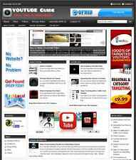 YOUTUBE GUIDE WEBSITE BUSINESS FOR SALE - Free Installation Provided
