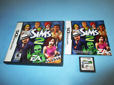 The Sims 2 Nintendo DS Lite DSi XL 3DS 2DS Game w/Case & Manual