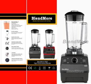 "BlendMore Professional 3 HP Blender 2200W, Self-Cleaning, w/ ""Vitamix Cookbook"""