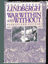ANNE MORROW LINDBERGH War Within and Without Diaries Letters 1939-44 HB 1980
