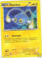 Pokémon n° 55/149 - CHINCHOU - PV60  (A3676)