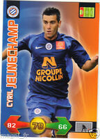 Panini Foot Adrenalyn 2010 - Cyril JEUNECHAMP - Montpellier (A3709)
