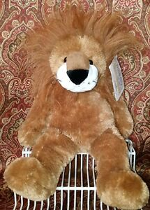 """Animal Alley Plush Lion 15"""" Geoffrey Soft Cuddly Jungle Animal Toy New Tags Nwt"""