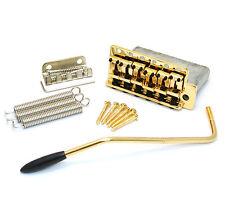 "SB-0200-002 Gold 6-point 2-3/16"" Tremolo Kit for Vintage Fender Strat®"