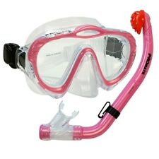 NEW Kid's Silicone Mask, Dry Snorkel for Boy Girl Scuba Dive Snorkeling Gear Set