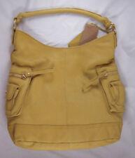 Linea Pelle Dylan Shoulder Bag YELLOW