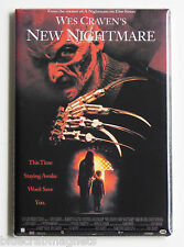 Wes Craven's New Nightmare FRIDGE MAGNET (2 x 3 inches) movie poster elm street