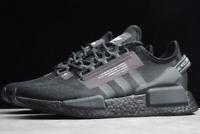 Adidas NMD R1 V2 Mens Black White Shoe Trainer Sneaker Sport