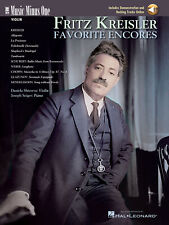 Fritz Kreisler Favorite Encores Violin Sheet Music Minus One Book Online Audio
