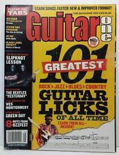 Guitar One Magazine Back Issue September 2004 101 Greatest Guitar Licks