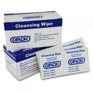 CAFLON Cleaning Antiseptic Wipes Pre Ear Piercing Hygiene x 10 sachets