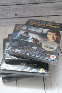 JAMES BOND 5 X DVD NEW SEAED BUNDLE JOBLOT