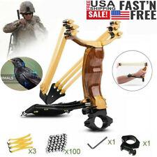 Professional Slingshot Set High Velocity Catapult Sling Shot for Outdoor Hunting