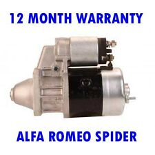 ALFA ROMEO SPIDER 2000 1977-1993 REMANUFACTURED STARTER MOTOR