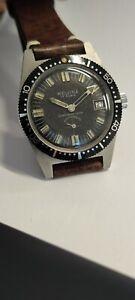 Vintage Diver Melvina Submarine Stainless Steel Watch