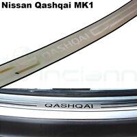 Protezione soglia baule auto profilo acciaio portabagagli per Nissan Qashqai MK1