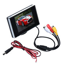 "DC12V 3.5"" TFT LCD Color 640X480 Resolution Screen Car Rear View Monitor DVD DVR"