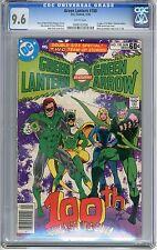 Green Lantern  #100  CGC  9.6   NM+   white pages