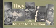 South Africa 2003 They Fought for Freedom booklet complete very fine unhinged