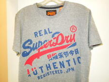 Superdry Mens Vintage Logo Graphic T-shirt Grey Small