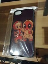 Coque IPhone 7 8 case Groot Deadpool