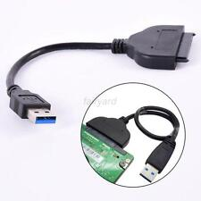 USB 3.0 to External SATA 3Gbps 22 Pin Cable Adapter Connecter Hard Drive New